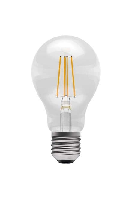 BELL 05301 4W LED Dimmable Filament GLS ES Clear 2700K